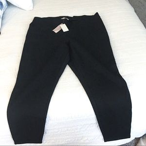 NWT Philosophy cropped ankle leggings